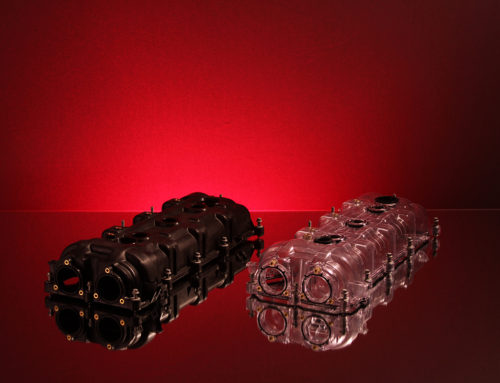 Chrysler Valve Covers In Black and Clear