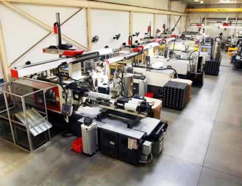 Colonial Plastics Machine Line Up